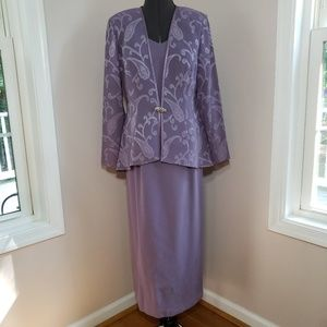 R & M Richards Formal Dress with Jacket